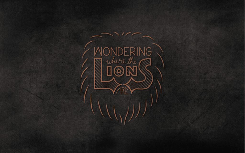 Lions-HandLettering