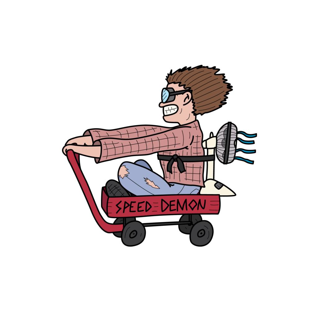 SpeedDemon-Illustration